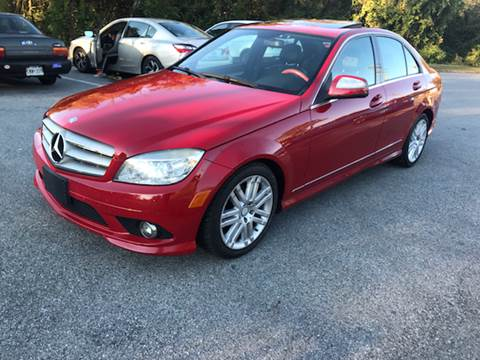 2008 Mercedes-Benz C-Class for sale at CARDEPOT AUTO SALES LLC in Hyattsville MD
