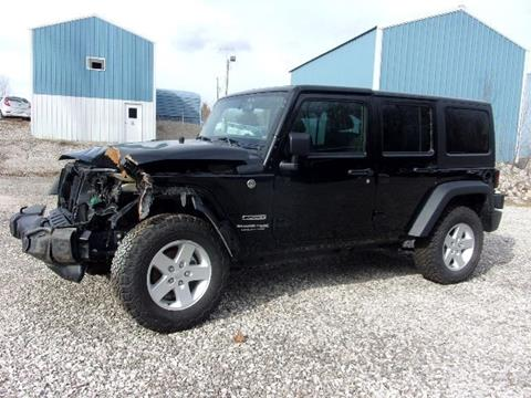 2018 Jeep Wrangler Unlimited for sale in Spencer, IN