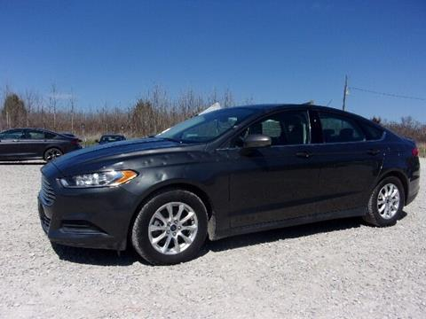 2015 Ford Fusion for sale in Spencer, IN