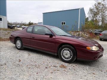 2001 Chevrolet Monte Carlo for sale in Spencer, IN