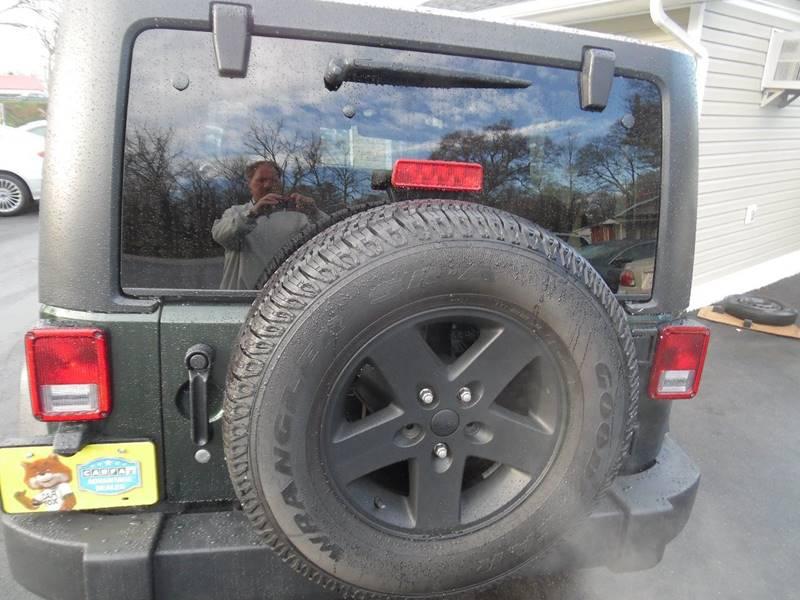 2011 Jeep Wrangler 4x4 Rubicon 2dr SUV - Lincolnton NC