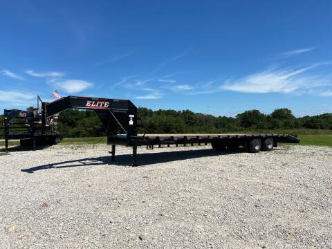 "2020 Elite 102"" x 36' Low Pro Deck Over for sale at Ken's Auto Sales & Repairs in New Bloomfield MO"