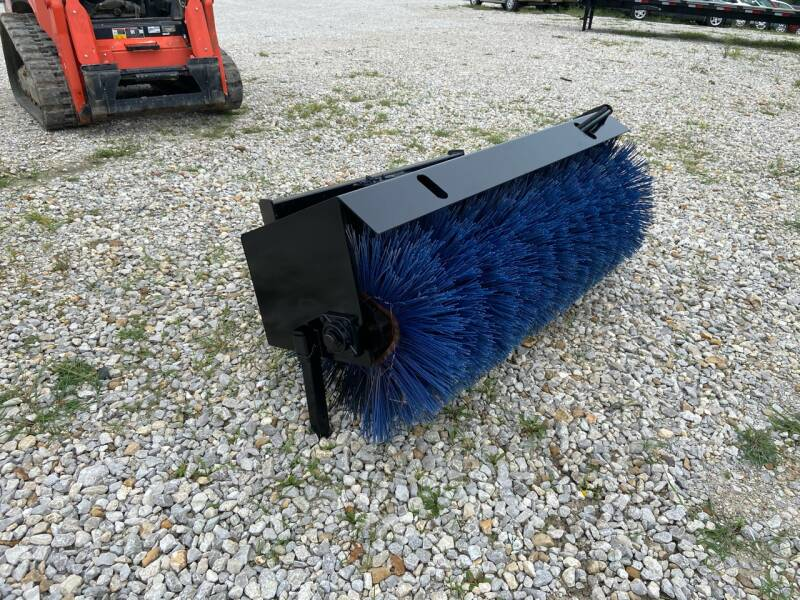 "2021 Wildkat 76"" Skid Steer Sweeper/Broom for sale at Ken's Auto Sales & Repairs in New Bloomfield MO"