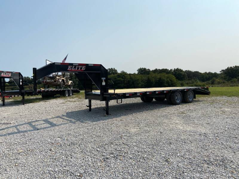 2021 Elite 25' Low Pro Deck Over for sale at Ken's Auto Sales & Repairs in New Bloomfield MO