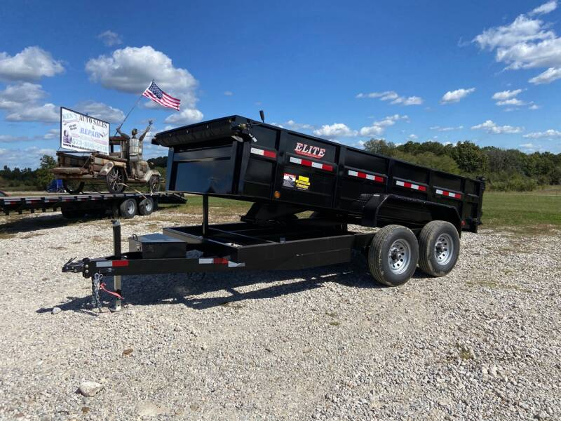 "2021 Elite 83""x14' Elite 14K Dump for sale at Ken's Auto Sales & Repairs in New Bloomfield MO"