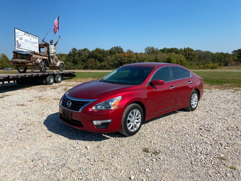 2013 Nissan Altima for sale at Ken's Auto Sales & Repairs in New Bloomfield MO
