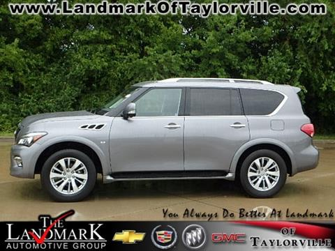 2016 Infiniti QX80 for sale in Taylorville, IL
