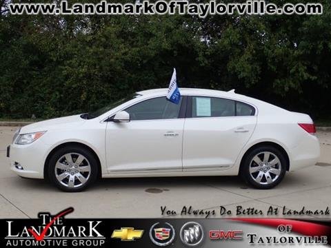2012 Buick LaCrosse for sale in Taylorville, IL