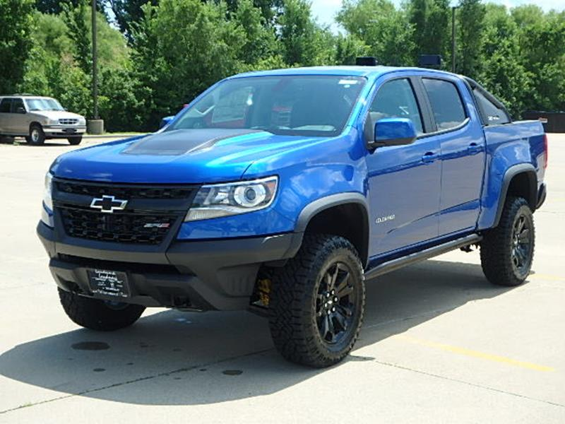2018 Chevrolet Colorado 4x4 ZR2 4dr Crew Cab 5 ft. SB In Taylorville ...