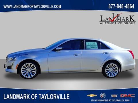 2019 Cadillac CTS for sale at LANDMARK OF TAYLORVILLE in Taylorville IL