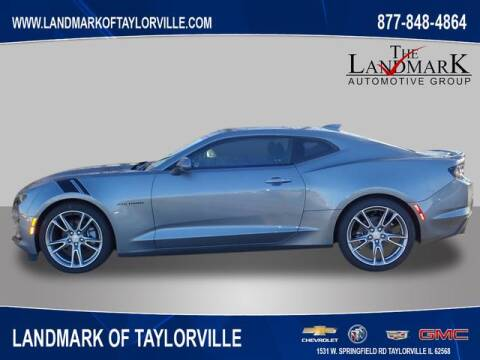 2020 Chevrolet Camaro for sale at LANDMARK OF TAYLORVILLE in Taylorville IL
