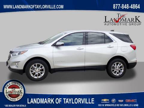 2020 Chevrolet Equinox for sale at LANDMARK OF TAYLORVILLE in Taylorville IL