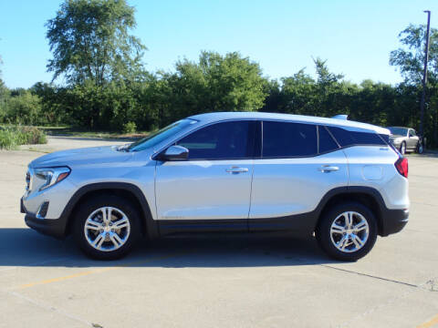2018 GMC Terrain for sale at LANDMARK OF TAYLORVILLE in Taylorville IL