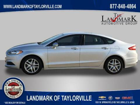 2016 Ford Fusion for sale at LANDMARK OF TAYLORVILLE in Taylorville IL