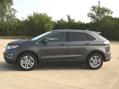 2018 Ford Edge for sale at LANDMARK OF TAYLORVILLE in Taylorville IL