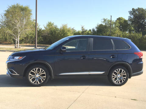 2016 Mitsubishi Outlander for sale at LANDMARK OF TAYLORVILLE in Taylorville IL