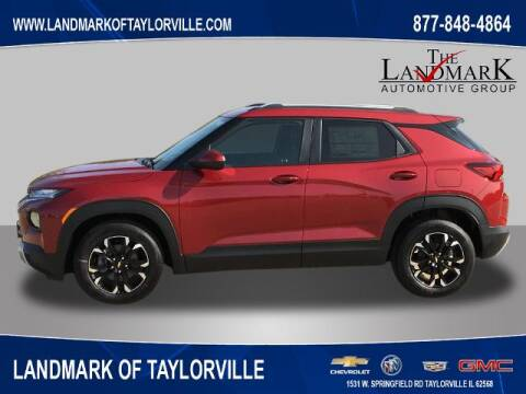 2021 Chevrolet TrailBlazer for sale at LANDMARK OF TAYLORVILLE in Taylorville IL