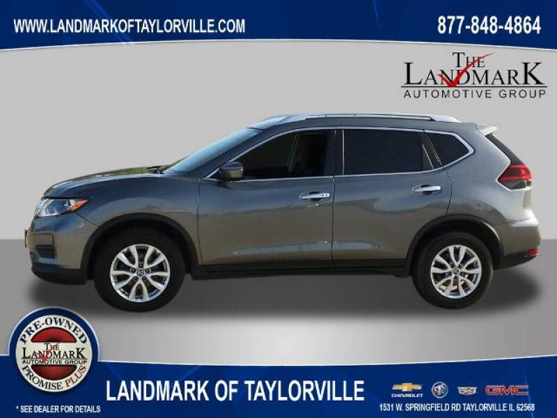 2018 Nissan Rogue for sale at LANDMARK OF TAYLORVILLE in Taylorville IL