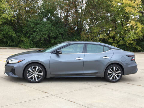 2020 Nissan Maxima for sale at LANDMARK OF TAYLORVILLE in Taylorville IL