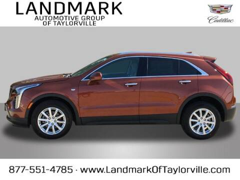 2021 Cadillac XT4 for sale at LANDMARK OF TAYLORVILLE in Taylorville IL