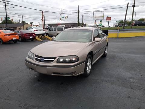 2003 Chevrolet Impala for sale at Rucker's Auto Sales Inc. in Nashville TN