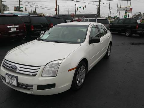 2009 Ford Fusion for sale at Rucker's Auto Sales Inc. in Nashville TN