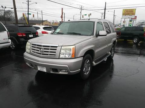 2004 Cadillac Escalade for sale at Rucker's Auto Sales Inc. in Nashville TN