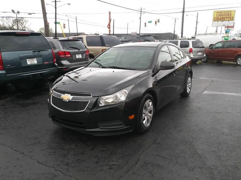2012 Chevrolet Cruze for sale at Rucker's Auto Sales Inc. in Nashville TN