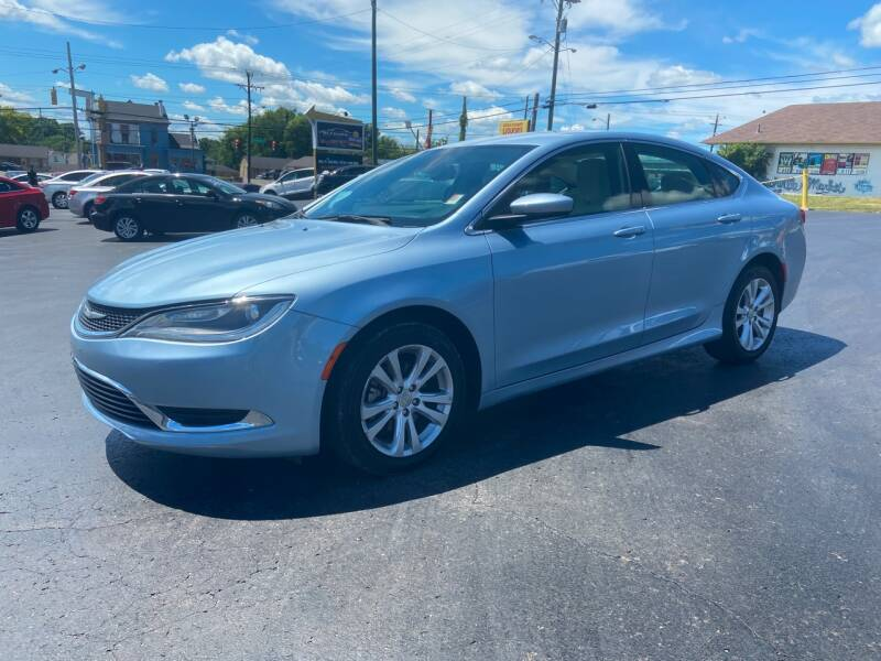 2015 Chrysler 200 for sale at Rucker's Auto Sales Inc. in Nashville TN