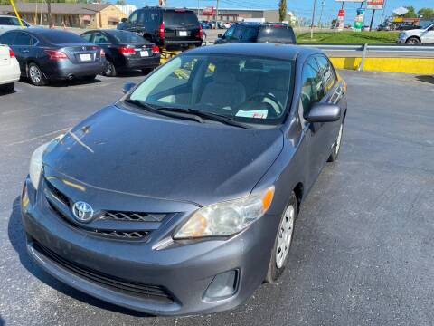 2011 Toyota Corolla for sale at Rucker's Auto Sales Inc. in Nashville TN