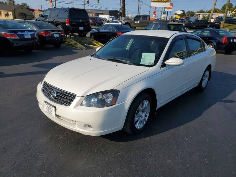 2006 Nissan Altima for sale at Rucker's Auto Sales Inc. in Nashville TN