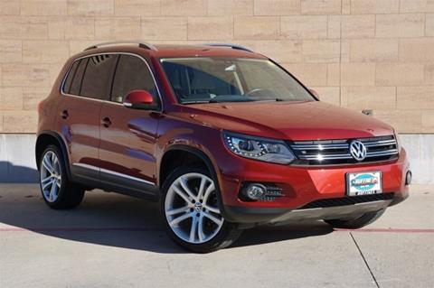2013 Volkswagen Tiguan for sale in Mckinney, TX