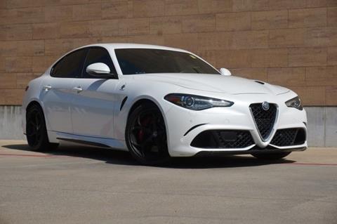 2017 Alfa Romeo Giulia Quadrifoglio for sale in Mckinney, TX
