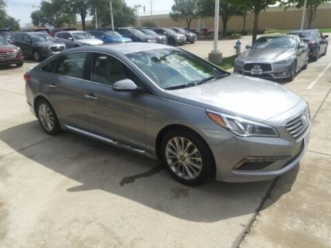 2015 Hyundai Sonata Limited for sale at HUFFINES HYUNDAI in Mckinney TX