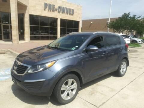 2013 Kia Sportage LX for sale at HUFFINES HYUNDAI in Mckinney TX