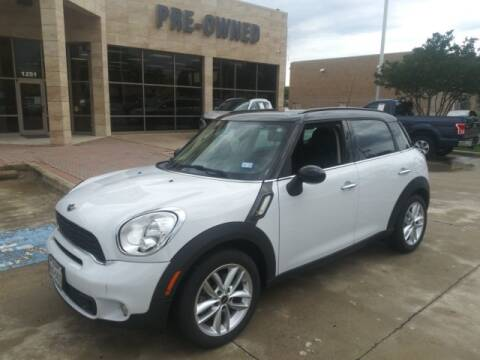 2014 MINI Countryman Cooper S for sale at HUFFINES HYUNDAI in Mckinney TX