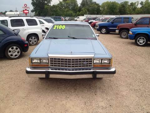 Ford ltd for sale carsforsale 1986 ford ltd crown victoria for sale in shreveport la sciox Gallery