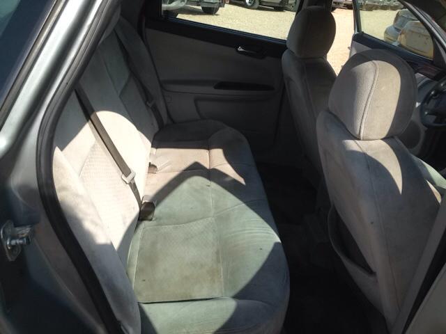 2008 Chevrolet Impala Lt 4dr Sedan W Roof Rail Curtain