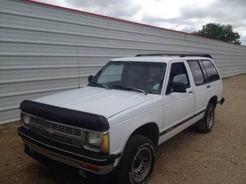 Used Chevrolet S 10 Blazer For Sale Carsforsalecom