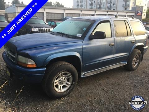 2002 Dodge Durango for sale in Seattle, WA