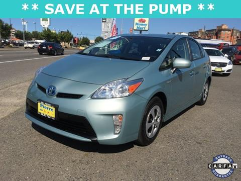 2013 Toyota Prius for sale in Seattle, WA