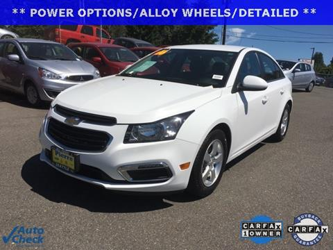 2016 Chevrolet Cruze Limited for sale in Seattle, WA