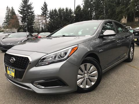 2017 Hyundai Sonata Hybrid for sale in Seattle, WA