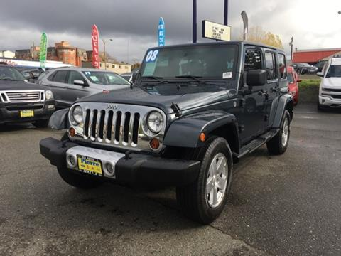 2008 Jeep Wrangler Unlimited for sale in Seattle, WA