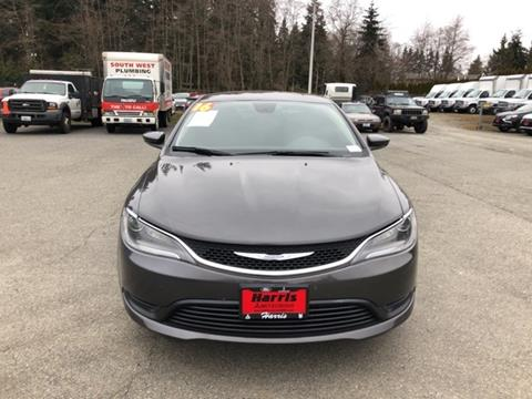 2016 Chrysler 200 for sale in Seattle, WA