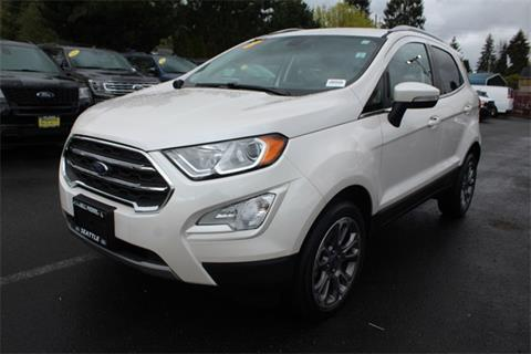 2018 Ford EcoSport for sale in Seattle, WA