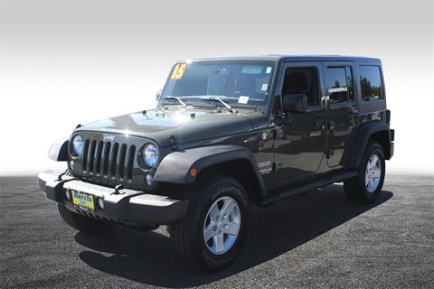 2015 Jeep Wrangler Unlimited for sale in Seattle, WA