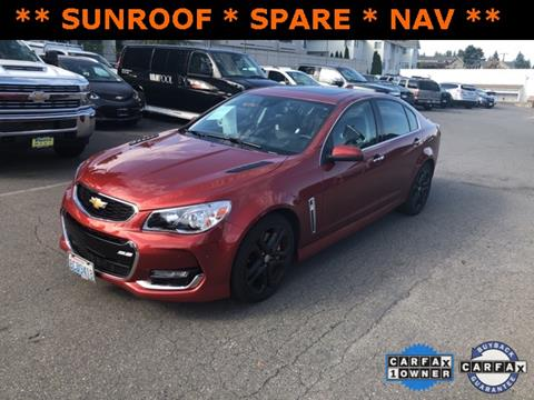 2016 Chevrolet SS for sale in Seattle, WA
