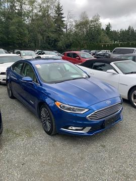 2017 Ford Fusion Hybrid for sale in Seattle, WA