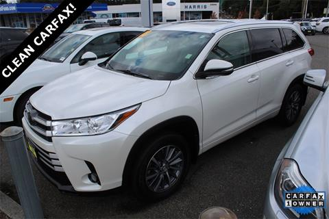 2018 Toyota Highlander for sale in Seattle, WA